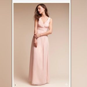 Carnegie Dress in Ice Pink by Anthropologie*BHLDN